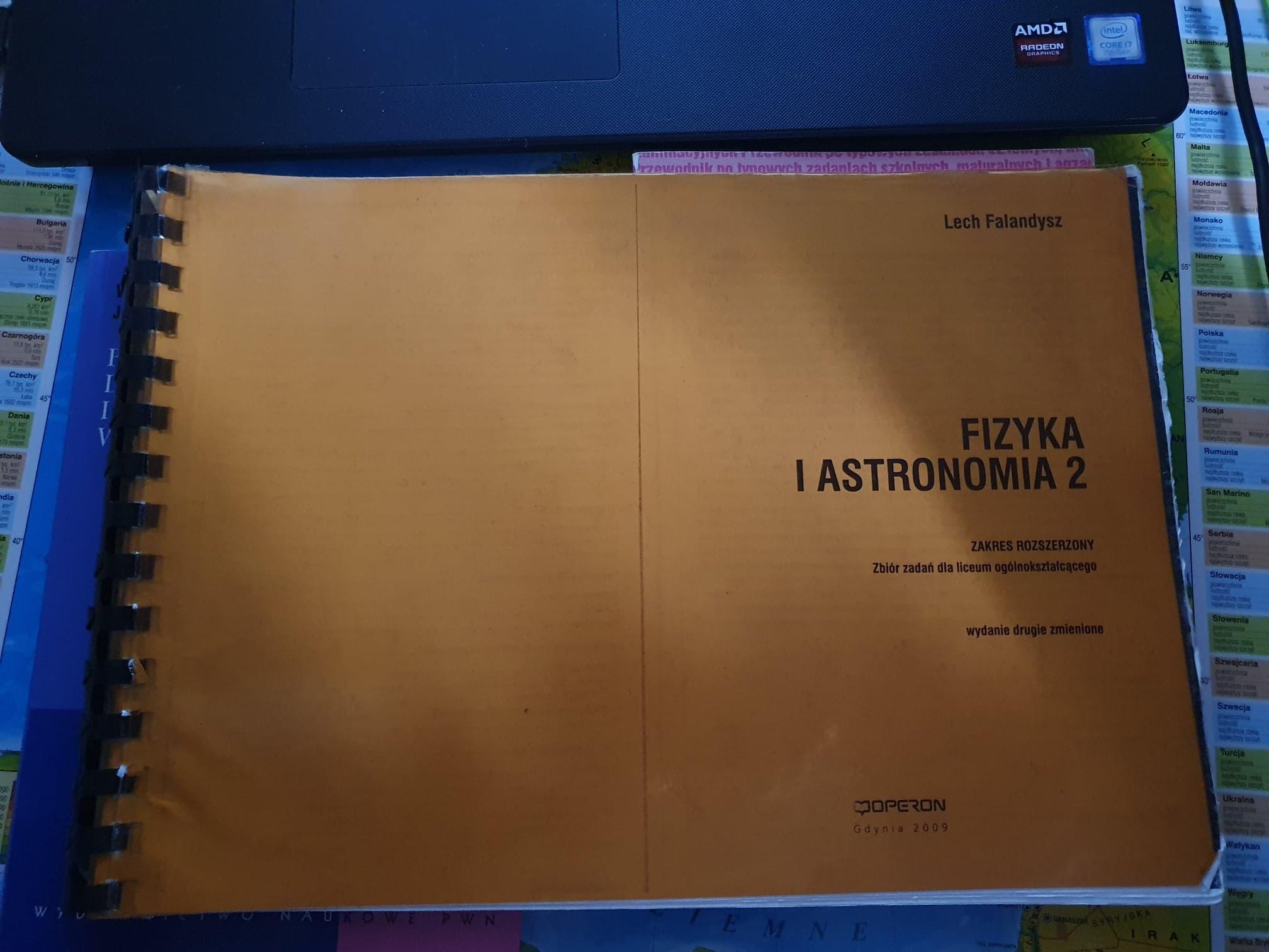 Bazarek • Fizyka i Astronomia 1 i 2, Lech Falandysz, p. rozsz. - sprzedaż.