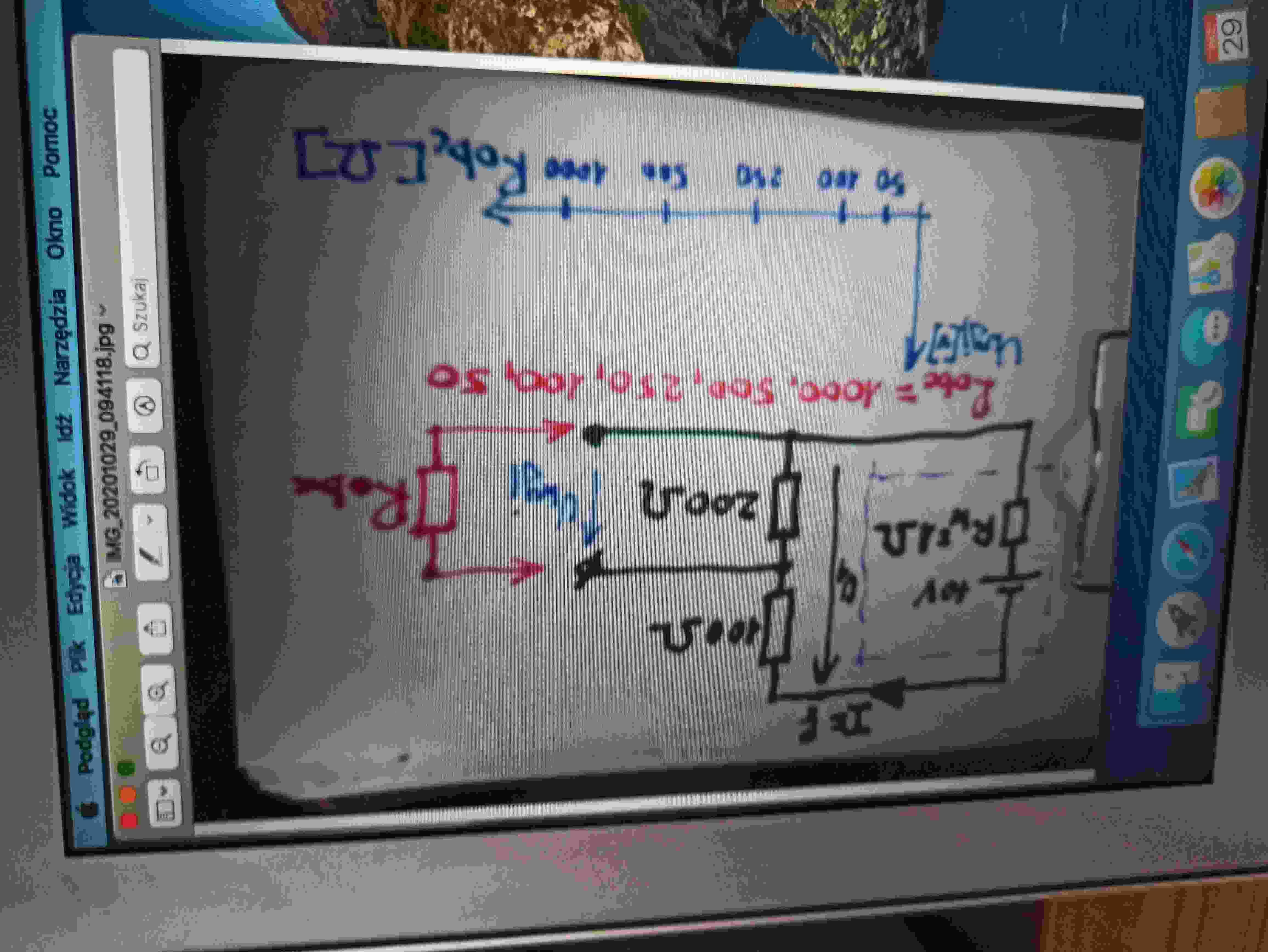 Szkoła podstawowa • Analiza pracy dzielnika rezystsncyjnego
