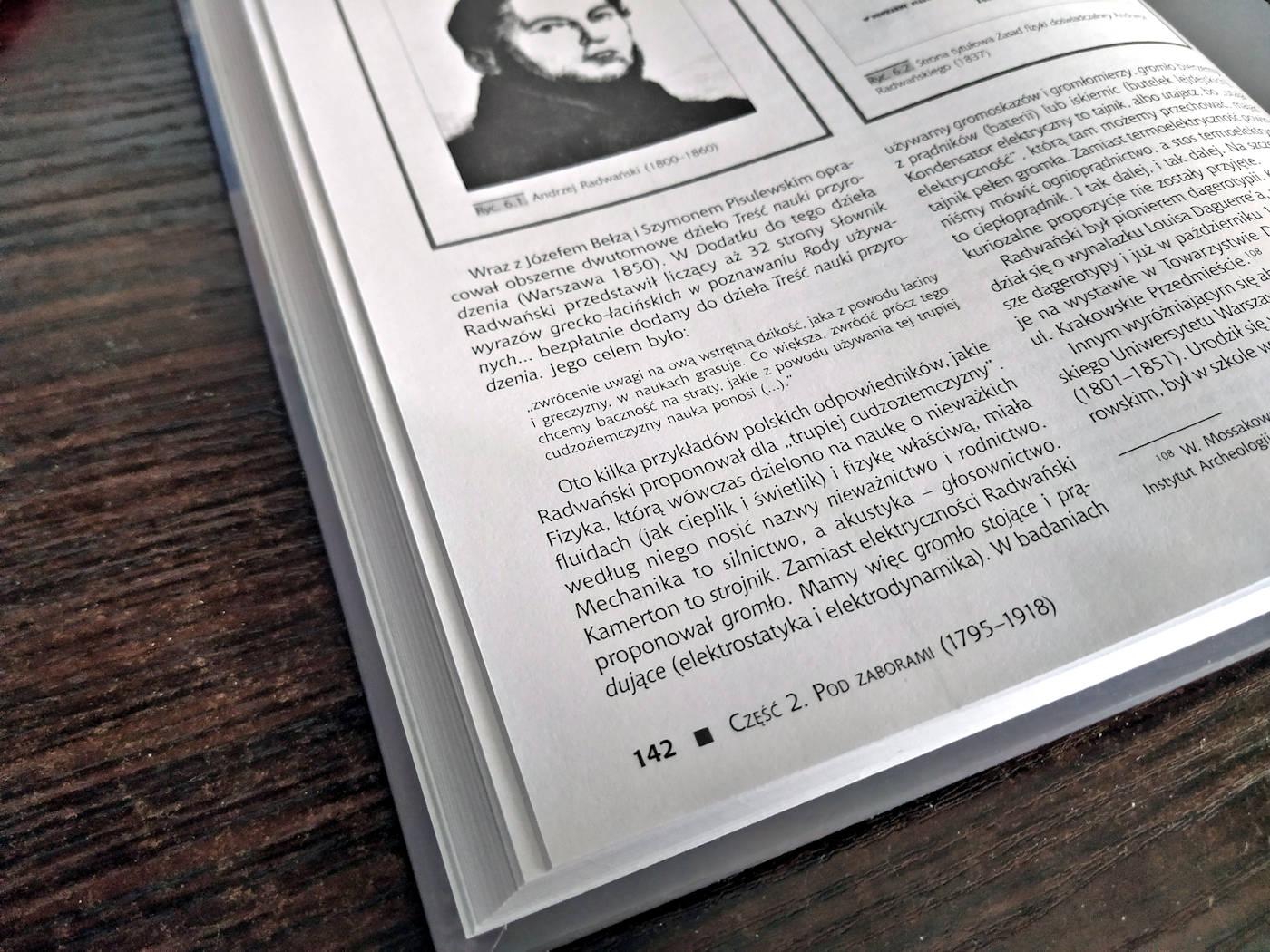 Historia fizyki • Re: Propozycje polskiego nazewnictwa